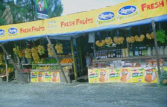Manila fruit shop