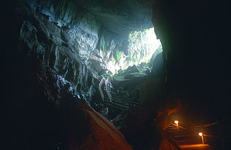 Gunung Mulu National Park Clearwater Cave entrance