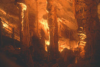 Gunung Mulu National Park Wind Cave stalagmites and stalactites 1
