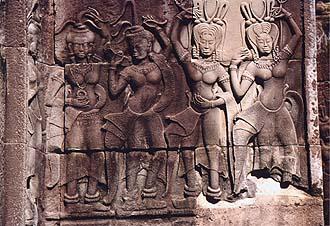 Angkor Wat Apsaras (celestial nymphs), Siem Reap