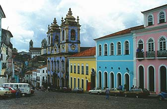 Salvador da Bahia, Pelourinho district