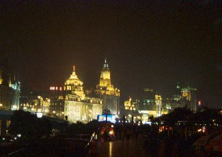 Shanghai - The Bund bx night