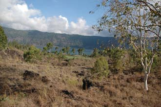 DPS Bali Lake Batur view from lava fields 3008x2000