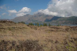 DPS Bali Mount Batur from lava fields in the outer crater 01 3008x2000