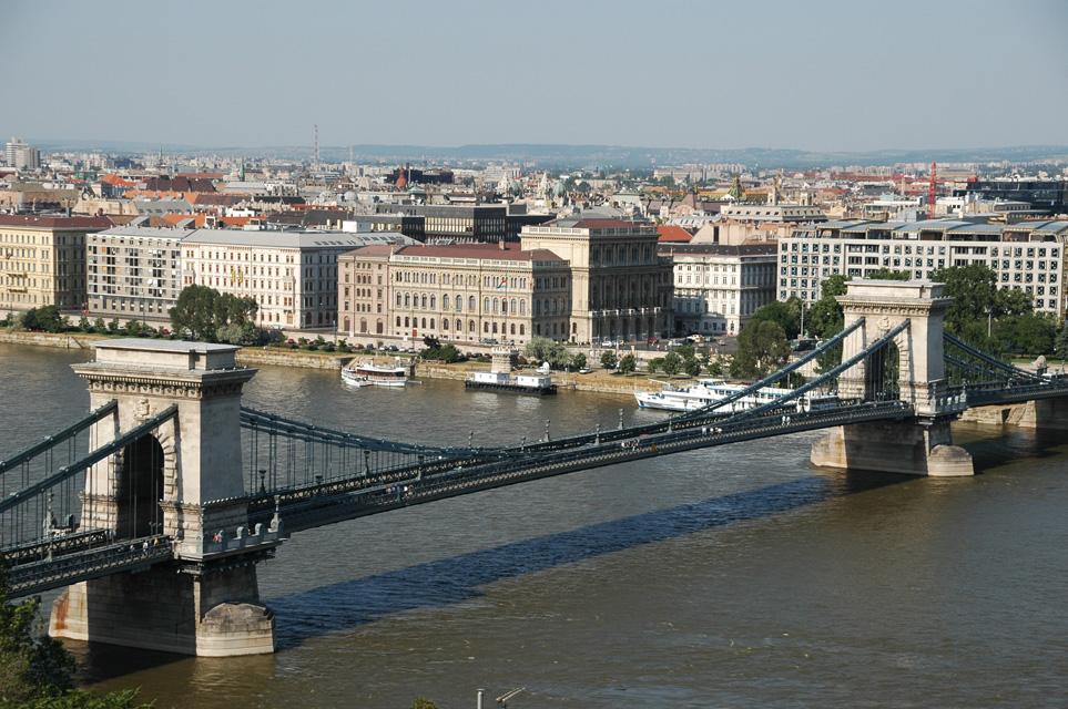 il ponte Szechenyi Lanchid