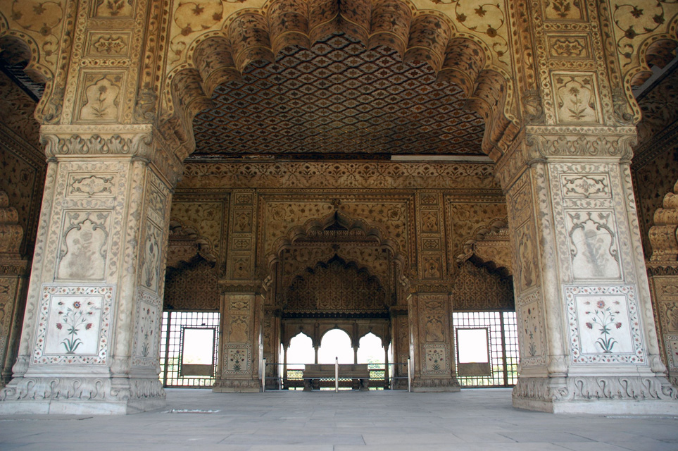 The Diwan-i-Khas Or Hall Of Private Audiences At The Red