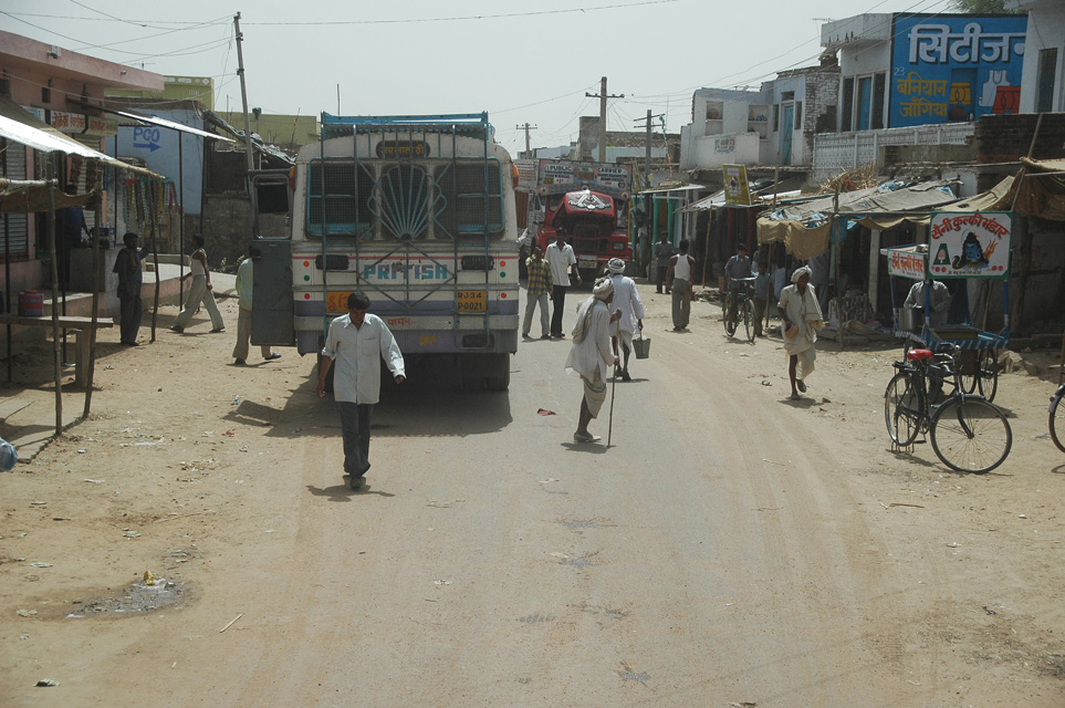 Karauli Rajasthan India Jai Street In Village On The Road From Ranthambore National Park To Karauli 3008x2000 Photo Gallery High Quality Pictures Of Jai Street In Village On