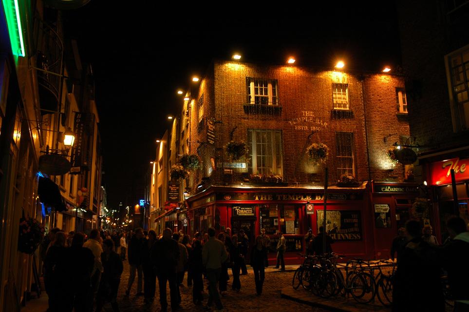 Temple Bar Dublin Ireland Dub Dublin The Temple Bar