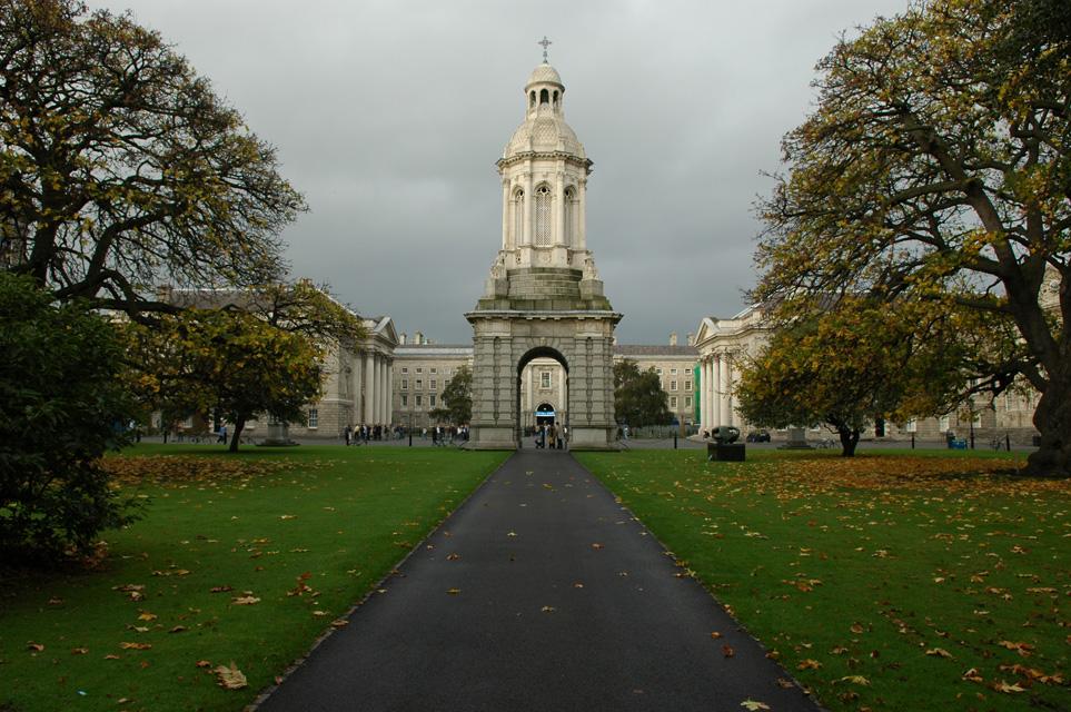 Trinity College Dublin Ireland Dub Dublin Trinity