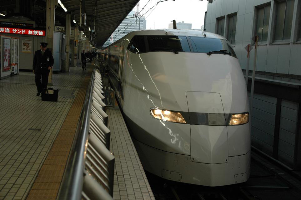 NRT Tokyo - Shinkansen bullet train in Tokyo Station 3008x2000