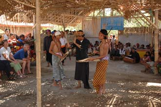 AMI Lombok Loang Gali village traditional dance performance 17 3008x2000