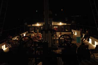 AMI Lombok Ombak Putih sailing ship after captains dinner 2 3008x2000