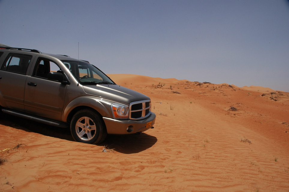 Exciting Off Road Driving on the Wahiba Sands