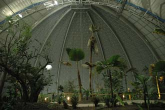 TGL Tropical Islands Resort Krausnick Brand big dome over tropical rainforest 01 3008x2000
