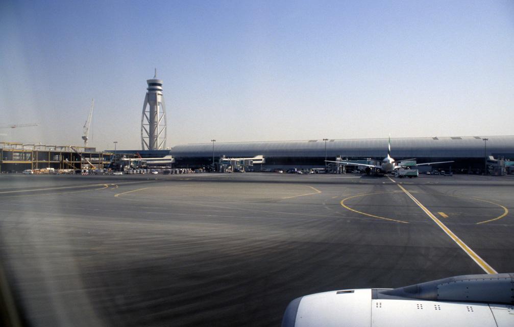 dubai international airport united arab emirates dxb dubai international airport   tower with