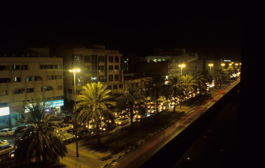 Dubai by night, United Arab Emirates / DXB Dubai by night