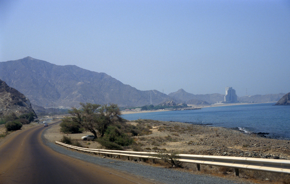 Fujairah United Arab Emirates  city pictures gallery : Dibba, Fujairah, United Arab Emirates / DXB Dibba road from Khor ...