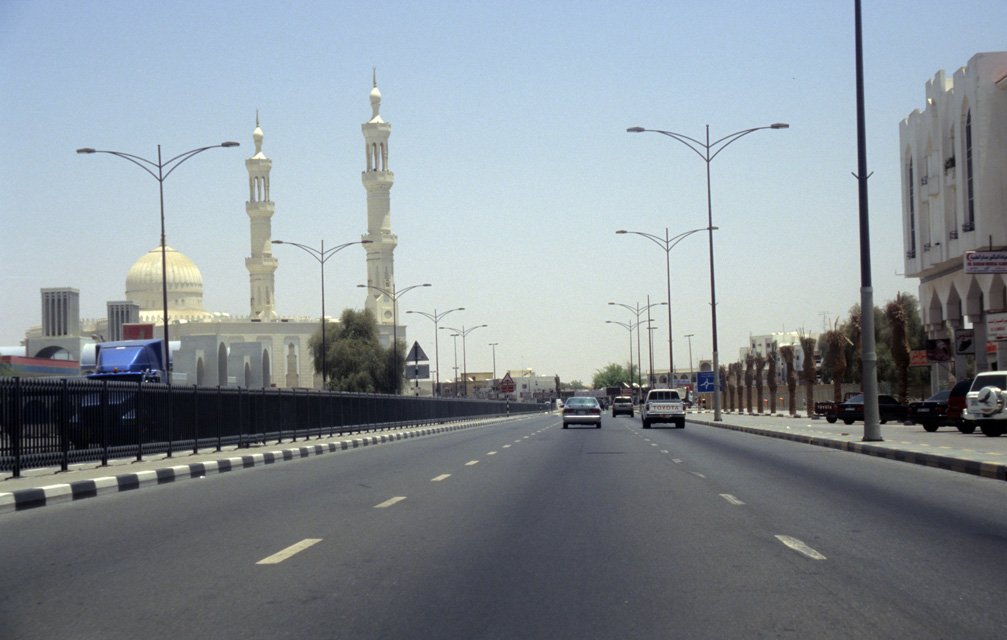 DXB Fujairah - Masafi mosque on the highway from Dubai to Fujairah 01 5340x3400
